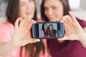 selfie amiche